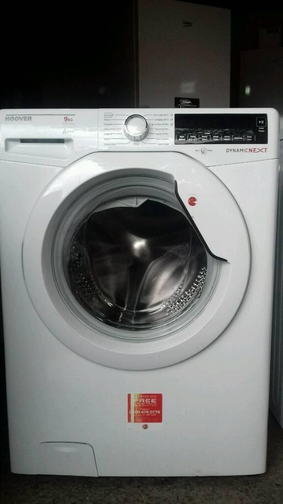 Wash machine Hoover 9kg in cluded waranty offer sale £150