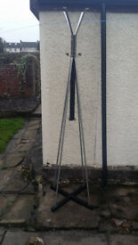 Coat and hat stand, 6 foot