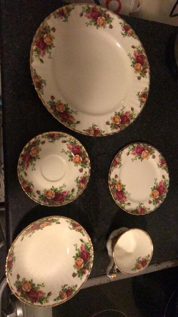 Modern Design Alfred Meakin Tea Set 18 Pieces