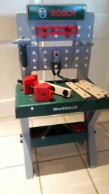 Bosch workbench and accessories