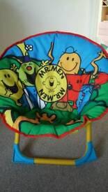 Mr Men chair