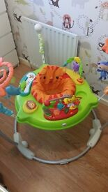 Fisher price rainforest jumperoo new condition