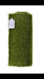 AstroTurf table runner Amazing for Easter or spring parties