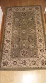 Kendra rug dusty green patterned