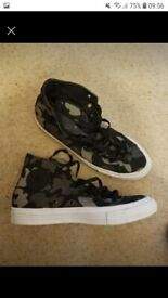 Mens converse all star size 8