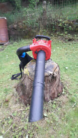 Mitox petrol leaf blower and vacuum