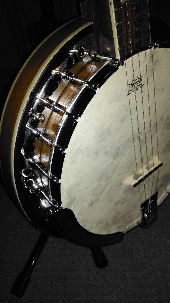 Barnes&Mullins 5 string Empress Banjo. As new may swap for ...