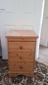 2 bed side table