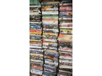 500 plus dvds action, horror,comedy, classics, tv, romance, thrillers documentary's etc