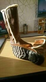 Girls nine West boots