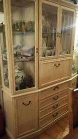 Display Cabinet and Unit