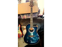 CRAFTER FSG250E (Active EQ) ELECTRO ACOUSTIC GUITAR