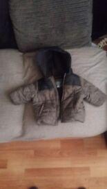 3-6 month babys coat