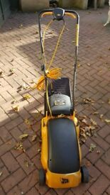 JCB Lawnmower with grass box