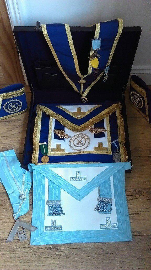 masonic regalia . province of devonshire