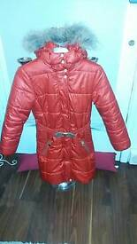Girls mayoral designer coat age 9