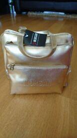 NEW - Morgan Gold Travel Bag