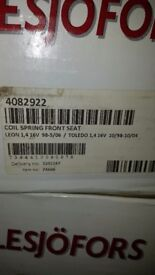 seat leon 99-05 springs brand new pair