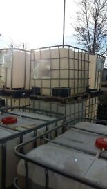 1000 litre IBC storage containers