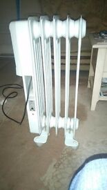 Porable nrarly new electric economlc heater