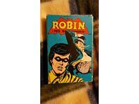 Vintage Robin The Boy Wonder Card Game DC Comics