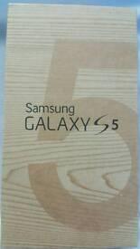 BRAND NEW SAMSUNG GALAXY S5 16GB BLACK