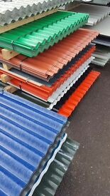 CORRUGATED ROOFING SHEETS £8.50 EACH
