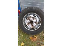 15. Inch transit wheeks good. Trade. One. Spare free