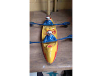Antique Clown Rowing Boat