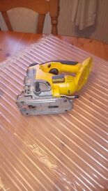 Dewalt DC330 18v cordless Pendulum Jig Saw ( Bare unit ) in mint condition, see photos and details