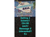 Summer ball time tickets 2x