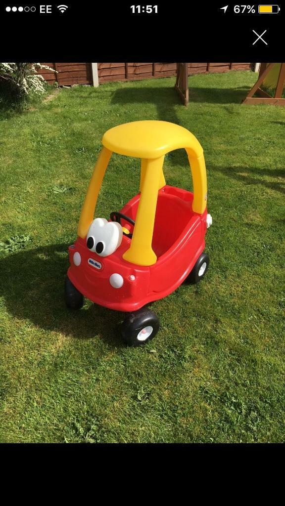 Little tikes carin Shrewsbury, ShropshireGumtree - Little tikes crazy coupe car in great condition collection only shrewsbury can drop off for a little extra any questions please ask