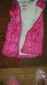 Little girls waistcoat