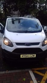 Transit custom for sale no vat late 14 plate