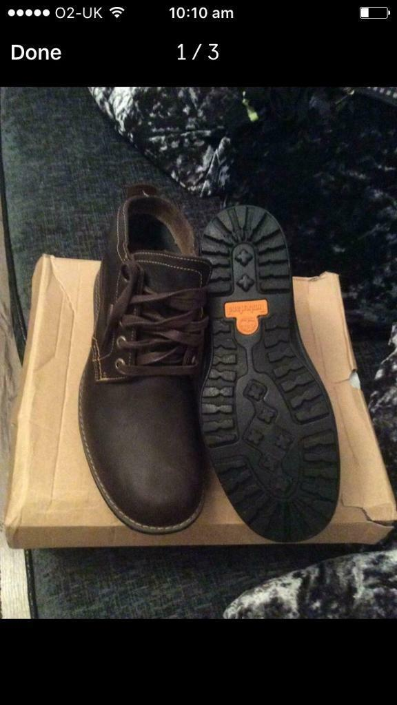 low priced 3e8ba f19d9 TIMBERLAND DARK BROWN MENS TIMBERLAND BOOTS GORE TEX SIZE 9 BRAND NEW CHUKKA  BOOTS