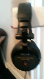 Sony dj headphones Mr v-500 in good working order