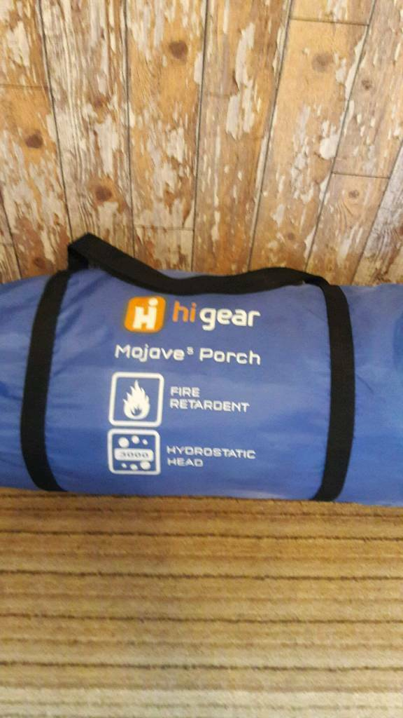 Hi Gear Mojave 5 Porch..