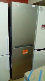 HOTPOINT 60cm Fridge Freezer slightly marked Ex display