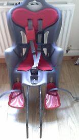 Halfords rear bicycle seat