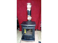 AGA Little Wenlock Classic (smoke exempt) 5kw Wood/Multifuel Stove - Little used Excellent condition