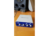 Digidesign Mbox mini 2 audio interface, used, perfectly working, no cds/package, usb cable included.