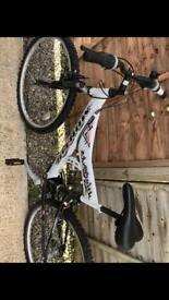 White mens bike