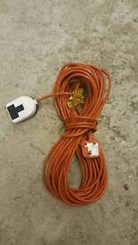 outdoor/ garden long extension wire cable