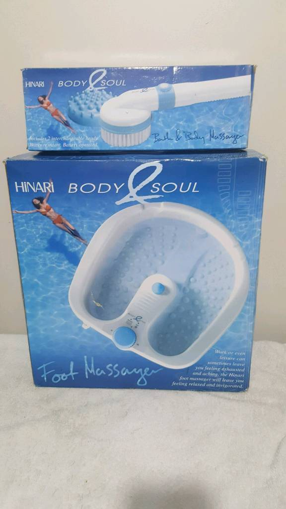 Foot massager with brand new body massager (i can dwliver