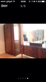 Wardrobe and dressing table + mirror