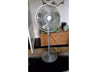Prem-I-Air Art Deco Industrial Style Floor Fan