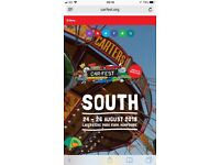 Car Fest South Sunday day tickets