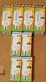 8 x Energy Saving Light Bulbs
