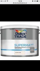 10L dulux paint