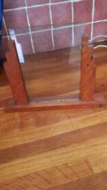 Wooden 1930, picture frame stand